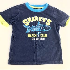 "🌼Free to add to bundle🌼 ""shark"" kids t shirt"